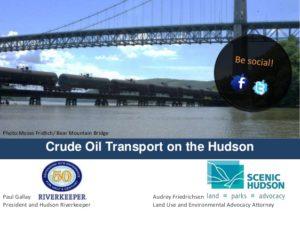 Webinar: Crude Oil Transport on the Hudson- Riverkeeper & Scenic Hudson