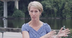 Congressional candidate Zephyr Teachout and Ulster County Executive Michael Hein speak out against the anchorages