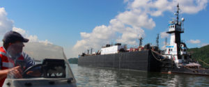 River groups offer navigation safety measures for Hudson, cite risks from barge anchorages proposed by industry