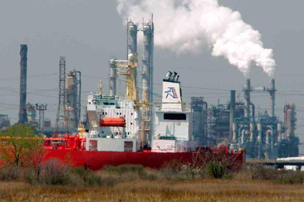 Bayway refinery in Linden, N.J